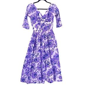 1950s vintage Gigi Young floral dress size small
